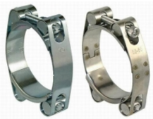 EUROPE TYPE DOUBLE BOLT HOSE CLAMP